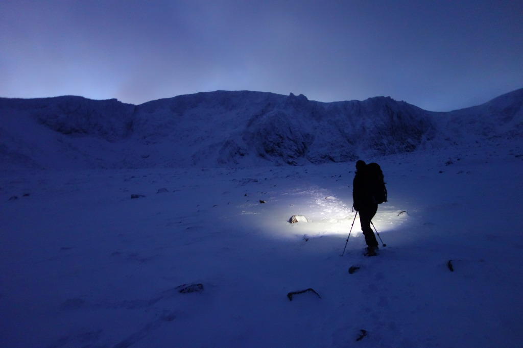 Winter Climbing Conditions in the Cairngorms