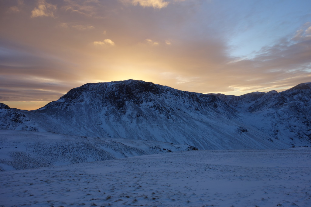 Winter Climbing Conditions | Great Gable