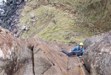 Guided Rock Climbing in Scotland