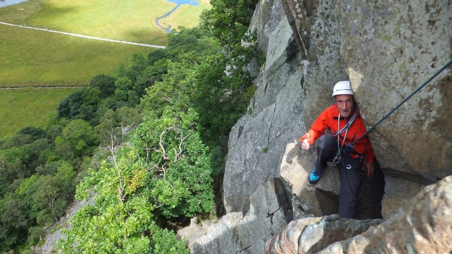 Guided Rock Climbing in the Lake District