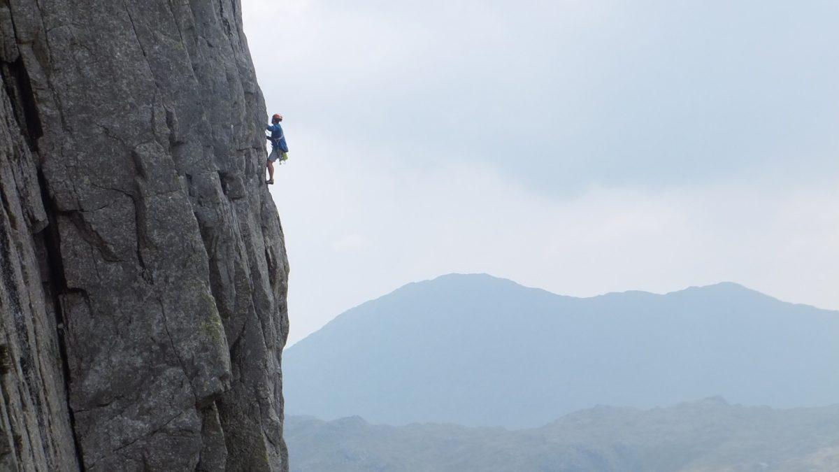 Climbing Kipling Groove