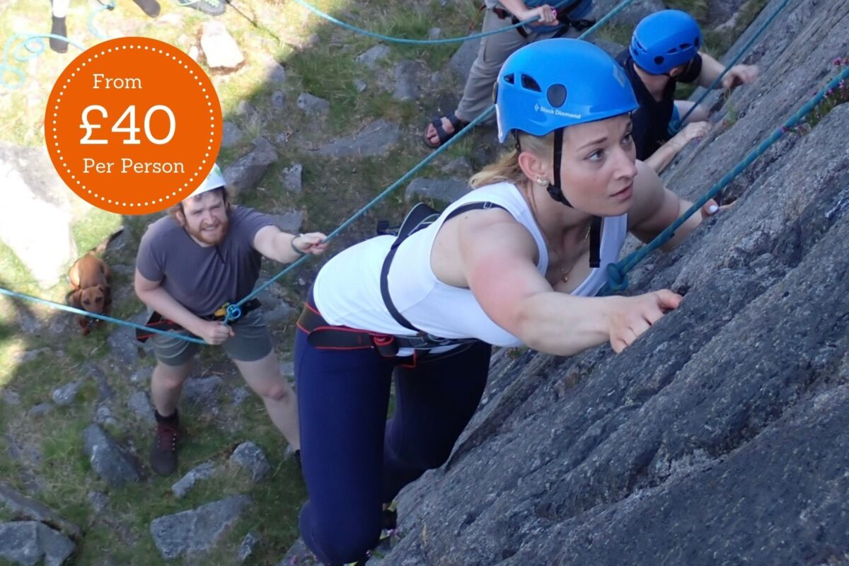 Rock Climbing Activity in the Lake District