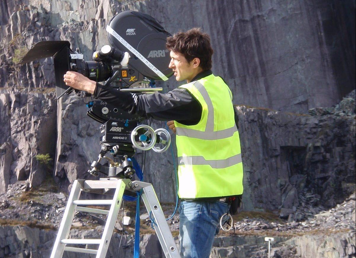 Assisting on James Bond Film Set