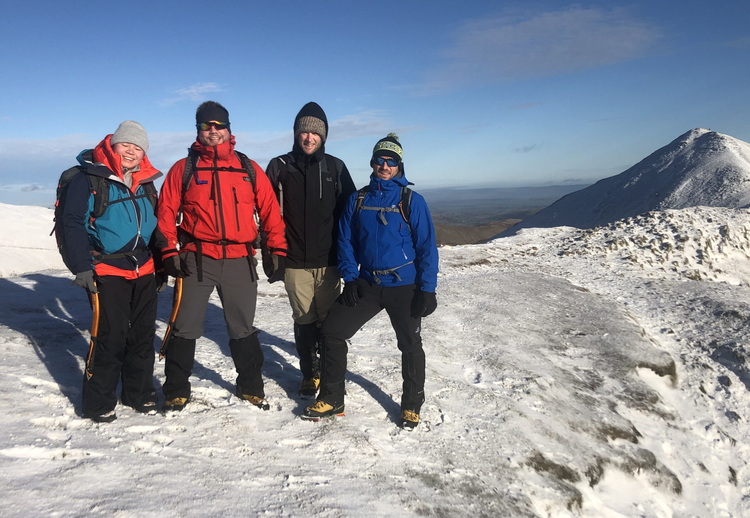 Winter Skills Courses in the Lake District