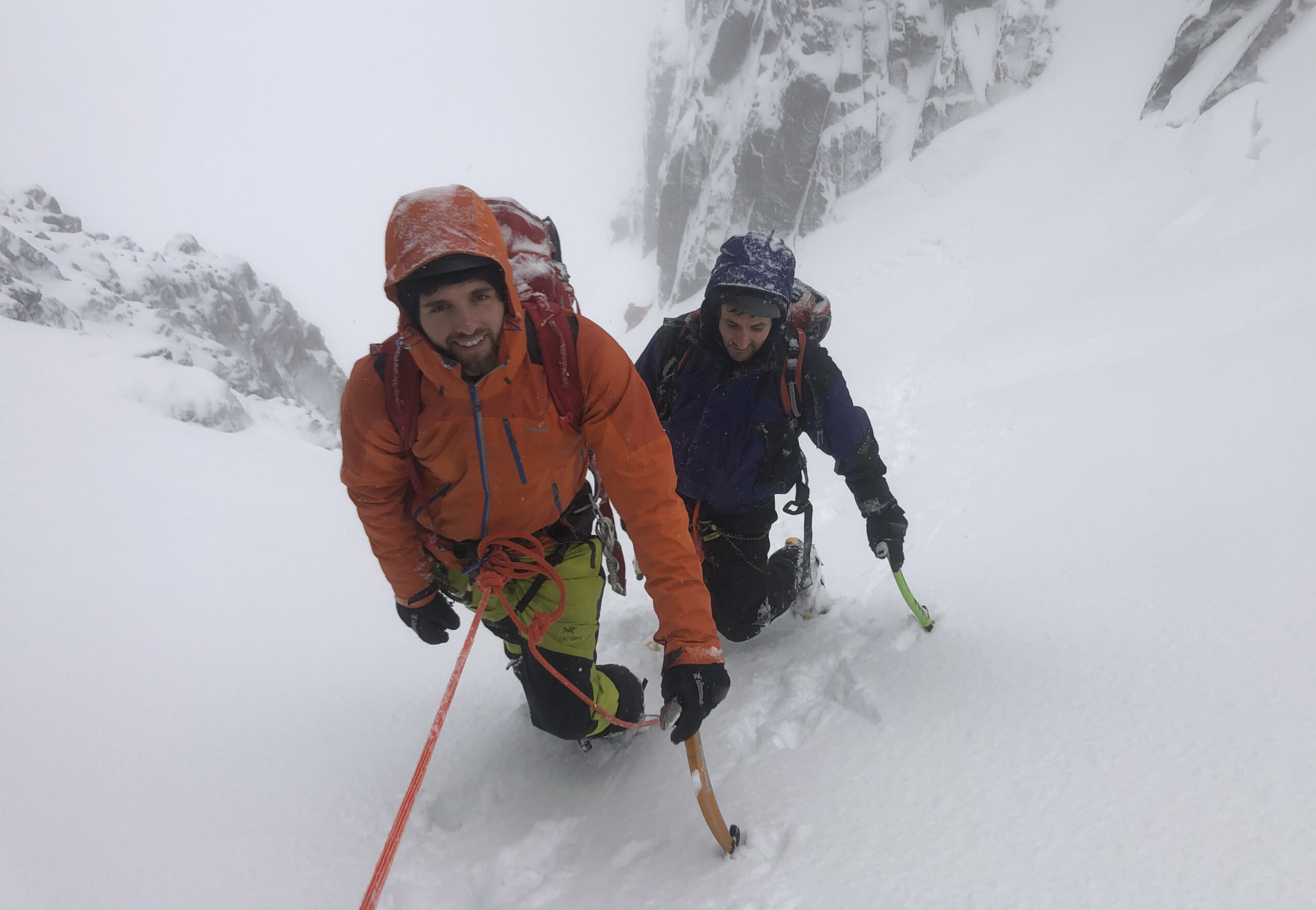 Winter Mountaineering in Scotland