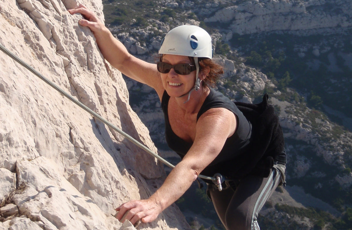 Rock Climbing in Les Calanques