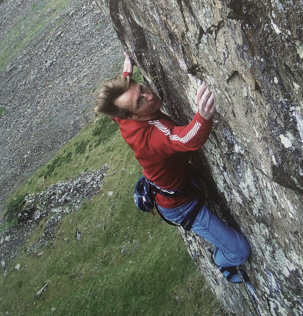 Climbing The Iron Man