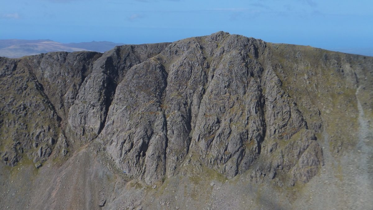 Dow Crag from the Old Man of Coniston